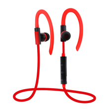 ANBES Wireless Bluetooth Earphone Sweatproof Sport Headset Stereo Headsets With Mic for iPhone Samsung HTC Huawei