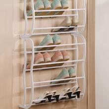 Shoe Racks Storage Organizer DIY Assembled Iron Multiple Layers Shoes Shelf Stand Holder Door Stackable Shoe Rack Save Space(China)
