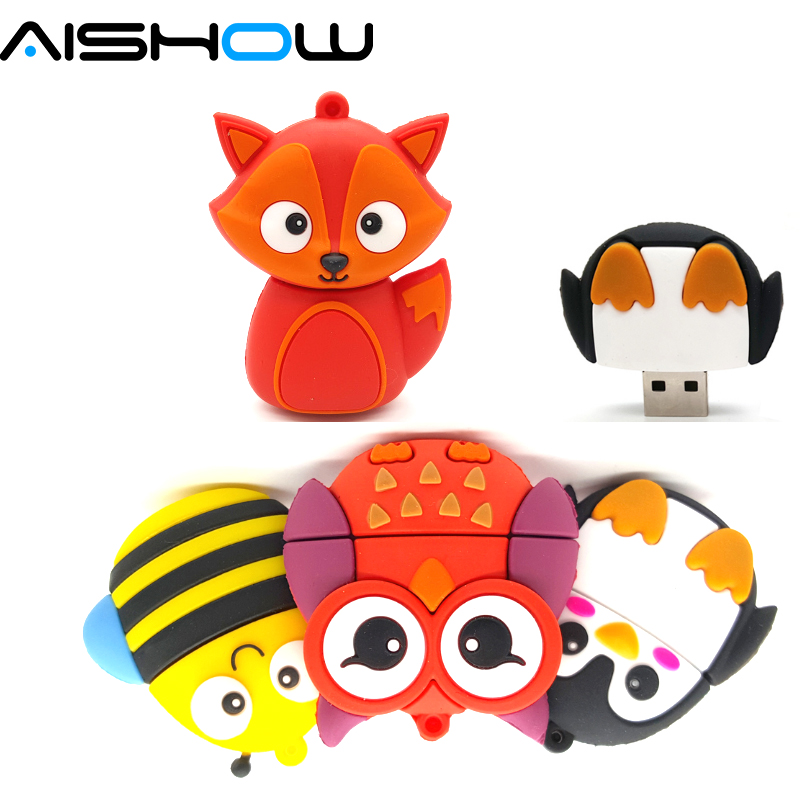 Big-promotion-cute-penguin-owl-fox-pen-drive-cartoon-usb-flash-drive-pendrive-4GB-8GB-16GB-32GB-U-disk-animal-memory-stick