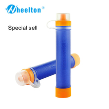 LifeNet portable water purifier portable water purification system water filtration system emergency survival kit outdoor water(China)