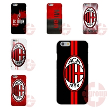 Soft TPU Silicon Covers Case AC Milan Soccer Sports For Samsung Galaxy Note 2 3 4 5 A3 A5 A7 J1 J2 J3 J5 J7 2016