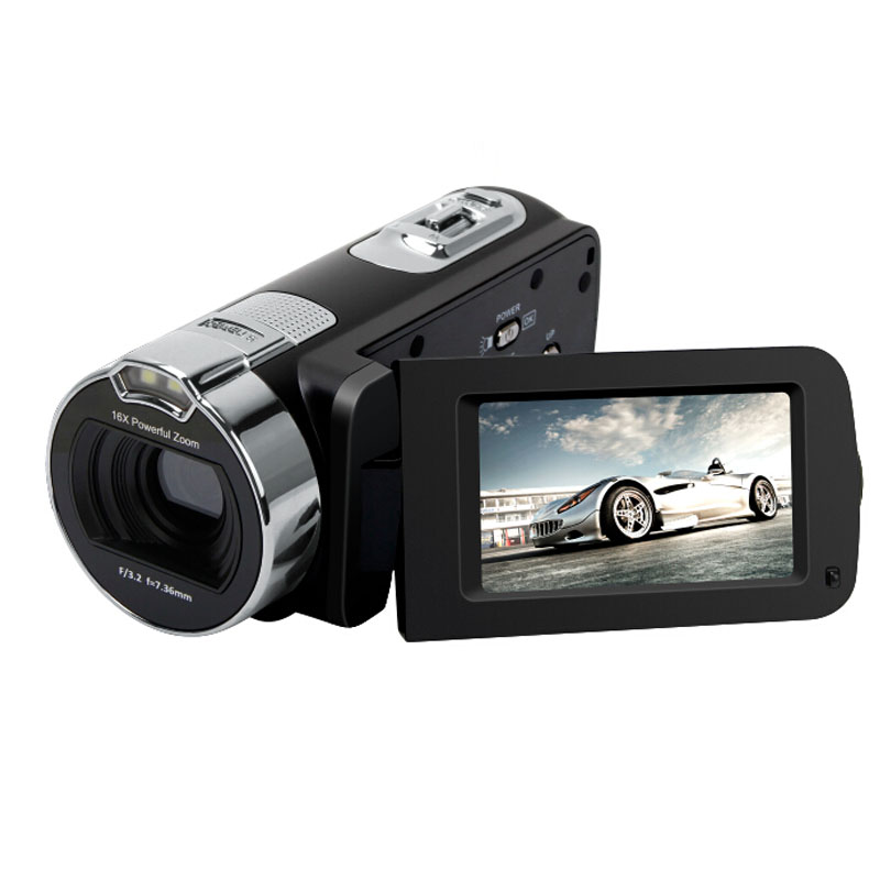 KaRue New 1080P HD 16x Digital Zoom Digital Video Camera Camcorder with 3.0 inch LCD Screen Max.24MP Support Face Detection 4