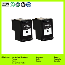 Compatible for 901XL CC654AE CC654AN (2-Pack Black) Ink Cartridge for HP Officejet 4500 J4500 J4524 J4535 J4540 J4550 G510a(China)