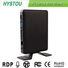 Factory Price Thin client X1 X3 built in RDP Protocol 7.0 Linux 3.0 with 4 USB ports 512M RAM 2G Flash For School And Office
