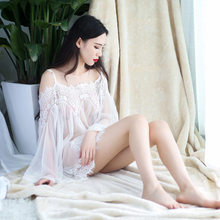 Hot Women Sexy Lingerie Sexy Lace Nightgown Sleepwear Sets Erotic Lingerie Erotic Baby doll Night Skirt Ladies Sexy Tulle Skirt(China)