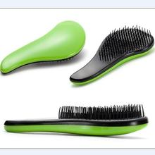 Good quality long handle detangle hair brush comb anti-static massage comb as fashion modeling hair care styling tool in salon