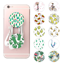 Buy 2018 New Cactus leaf Pop Fashion Phone Holder Expanding Stand Grip Mount Smartphones Tablets iphone X 8 Samsung for $1.16 in AliExpress store
