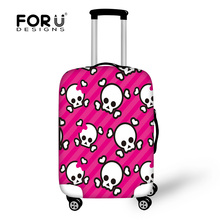 FORUDESIGNS Spandex Waterproof Travel Accessories Luggage Protective Cover For 18/20/22/24/26/28/30inch Suitcase Case Cover 2017