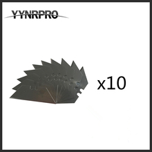 YYNRPRO free shipping 100pcs 10pcs/box 19mm T blades,type blades for folding utility knife blade small mini folding knives(China)