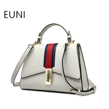 EUNI Fashion Famous Brand Luxury Women Handbags High Quality Shoulder Bags Casual Wings Tote Bag For Femal(China)