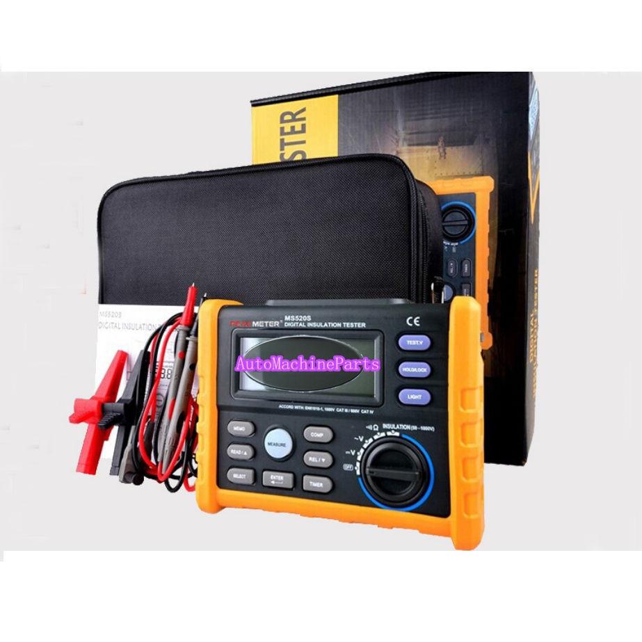 Digital Insulation Resistance Multimeter MS5205 Megohm Tester 100G Ohm 2500V<br><br>Aliexpress