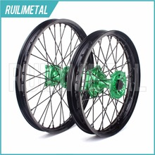 "21"" 19"" for KAWASAKI Wheel Set Hub Rim KX 125 KX125 KX250 KX250F KX 250F KX450F 2006 2007 2008 2009 2010 2011 2012 2013 2014(China)"