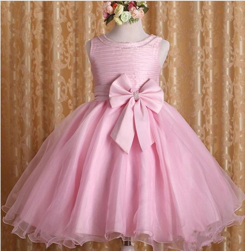 2 to 7Years Baby Girls Clothes Pink Tutu Dress Christmas Princess Dress Roupas Infantis Menina Sequined dress Party Dresses<br>
