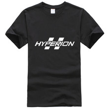 T- Shirts Mens Borderlands Hyperion LOGO T-shirt mens fashion Design o-neck cotton short sleeve homme new design tees tops