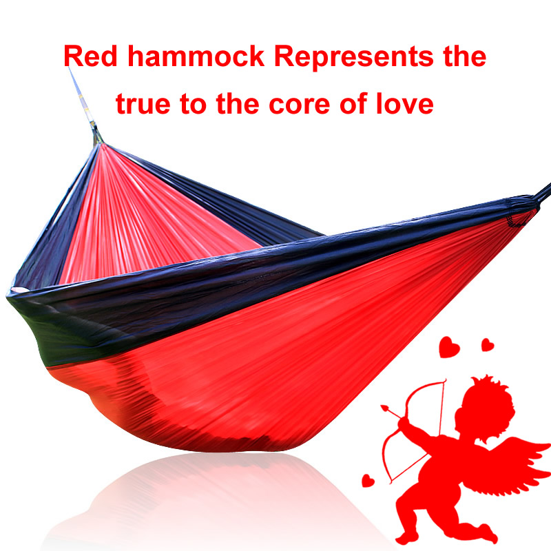 2018 Valentines day present Creative gift Hammock Outdoor Make Love Bed<br>
