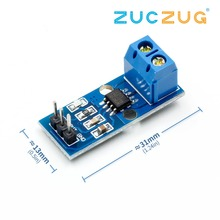 1PCS Hall Current Sensor Module ACS712 module 20A Hall Current Sensor Module arduino 20A ACS712