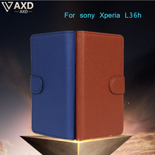 Buy Coque Flip Case Sony Xperia Z L36h L36i C6601 C6602 C6603 Protect camera case sony l36h L36H Leather Wallet Phone case for $1.66 in AliExpress store