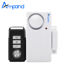 Wireless Home Security Window Door Burglar Alarm Magnetic Sensor with Remote Control door sensor alarm(China)