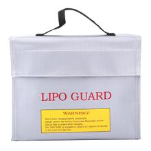 1Pc Explosion-proof Lipo Guard Charging Protection Battery Safe Bag Fire Resistant Pouch Lipo Safe Bag Explosion-Proof Bag(China)