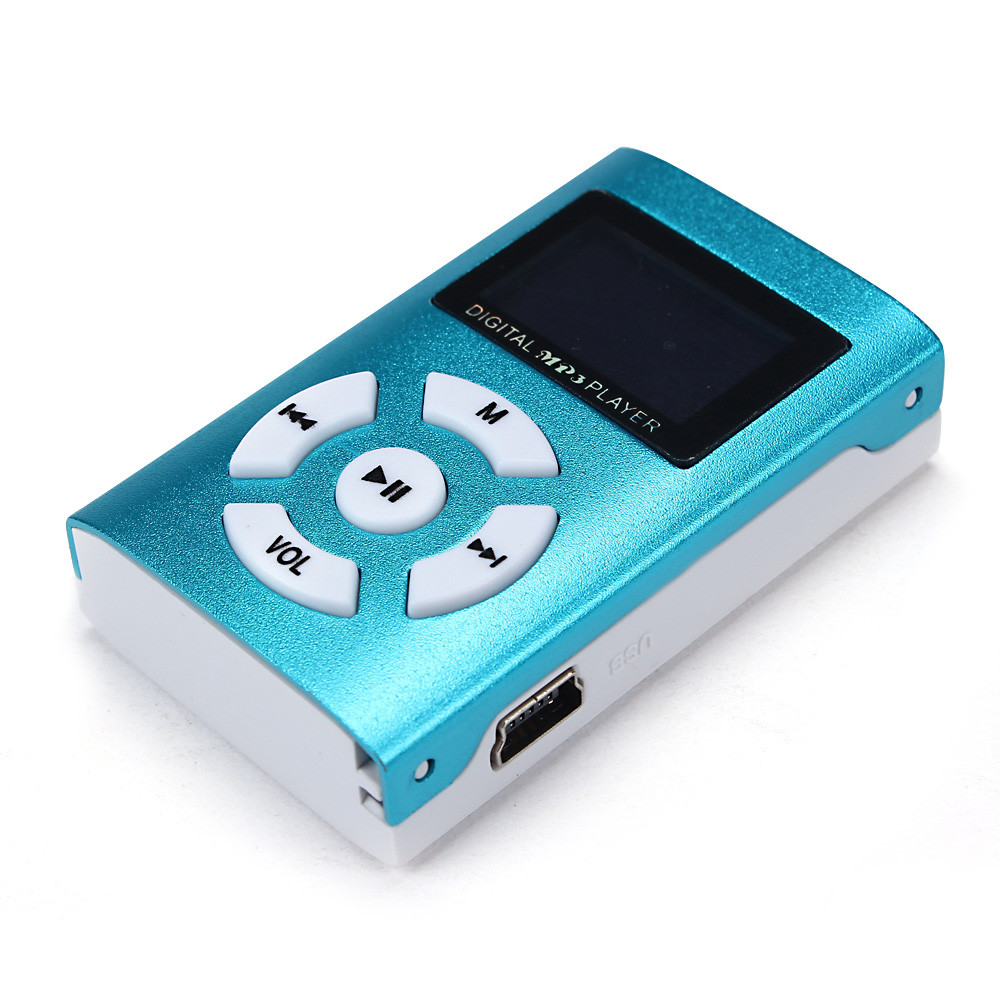 Wholesale Mini LCD Screen MP3 Player Mini USB Clip Sport Music MP3 Player Young Running Man/Women #OR
