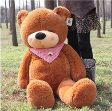 New 2014 plush doll toys big teddy bear 1pcs 180CM stuffed stuffed animals plush dolls classic toys gift wholesale