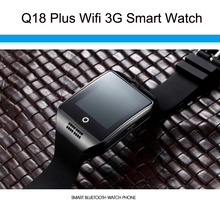 Smart Watch Q18 Plus MTK6572A RAM 512 ROM 4G Support WIFI 3G SIM GPS AGPS With HD Remoto Camera Facebook Twitter Whatsapp Skype