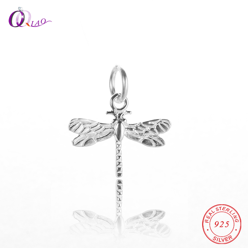 2 of 925 Sterling Silver Bee Charms 9x13 mm.