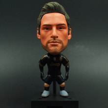 KODOTO SoccerWe Juventus Away Claudio Marchisio football soccer moveable star collection dolls Toy Figures(China)