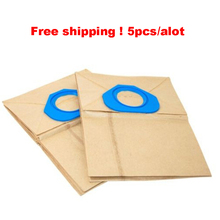 Suitable for NILFISK GA70 GS80 GS90 GM80 GM90 Vacuum DUST BAG parts accessories filter bag x 6