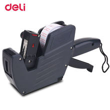 Deli Black Good Quality Metal Normal Price Labeler Can Make Practical Set 21.5*12 Price Paper New Hot Sale Price Labeler
