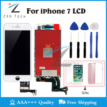 Alibaba China 100% No Dead Pixel for iPhone 7 LCD Display With 3D Touch Screen Digitizer Assembly Replacement with Free Shipping(China)