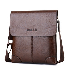 man's briefcase men leather bag work men's small brown crossbody business shoulder bag casual mens office bags bolsa masculina(China)