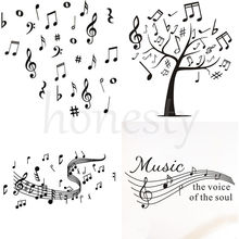 MUSIC Musical NOTES Variety Pack Decal Window Truck Bumper Auto Laptop Sticker