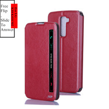 Phone Cases for LG K10 5.3 inch cover luxury PU Leather Window Flip Cover Case for LG K 10 K410 K420N / LG M2 F670 5.3'' Cases