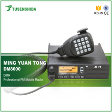 New Arrival UHF 400-470MHZ ETSI-TS102 361-1,-2,-3 Digital DMR Mobile Transceiver Car Two Way Radio DM-8000