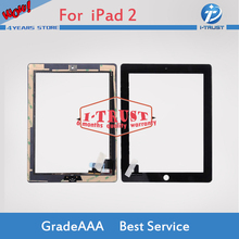 20 pcs lot touch screen Glass replacement digitizer for iPad 2 ipad 2 digitizer panel touch screen Free Shipping(China)
