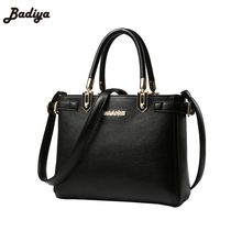 New Sac Women Messenger Bag PU Leather Office Ladies Shell Tote Bag Cross Body Shopping Bags Female Shoulder Bags Bolsos Mujer(China)