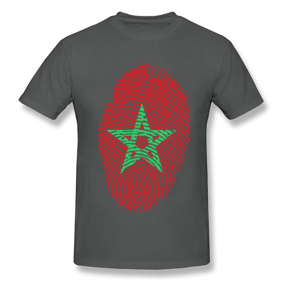 Morocco Flag Fingerprint_carbon