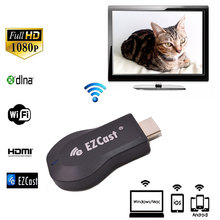EZCast Tv Stick Google Chromecast Miracast Dongle 1080P HDMI Wifi Display Android Mini PC DLAN Airplay MirrorOP Receiver(China)