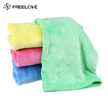 Super Soft Sanding Microfiber Glass Cleaning Cloth 30x40cm Coral Hand Towel Washing Cleaner Accessories