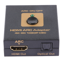 HDMI ARC adapter enables display (Audio Return Channel) HDMI 1.4 cable CEC audio (Toslink) signal output 4KX2K Audio frequency