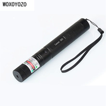 zk30 Green Laser pointer 303 200mw High power Lazer SD Laser 303 presenter laser pointer + Safe Key + battery+charger