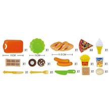 LeadingStar 18 pcs Kids Play House Game Props Tableware Food Children Educational Toys Kitchen Toys zk30(China)