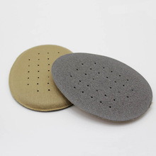 Wholesale 100 Pair Sponge Shoes Pad Hight Heel Cushioned Insole Anti Pain Foot Massage Care(China)