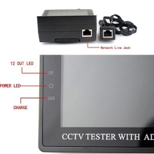 "3.5"" CCTV Security Tester With ADSL Detection Engineering Treasure Video Monitor"