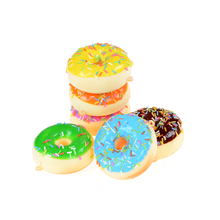 JETTING 7 Cm Donut Cone Squishy Slow Rising Bread Antistress Toys Cell Phone Charms Straps(China)