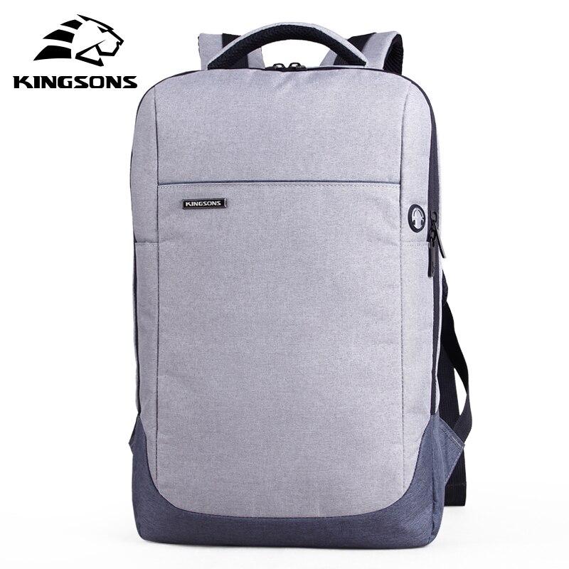 Kingsons KS3113W 15.6 Laptop Bag Backpack Daily Rucksack Large Capacity Sac Main Mens Baypacks Women Backpack free shipping RU<br>