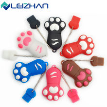 LEIZHAN USB Flash Drive Cat Claw U Stick 64G Pendrive 32G Memory Storage Disk 16G Pen Drive 8G U Disk 4G Memoria Flash Drive
