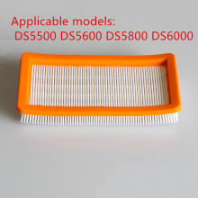Washable karcher filter for DS5500,DS6000,DS5600,DS5800 robot vacuum cleaner Parts Karcher 6.414-631.0 hepa filters