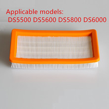 Washable karcher filter for DS5500,DS6000,DS5600,DS5800 robot vacuum cleaner Parts Karcher 6.414-631.0 hepa filters(China)